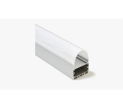 Накладной алюминиевый профиль H005
