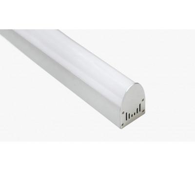 Накладной алюминиевый профиль H067