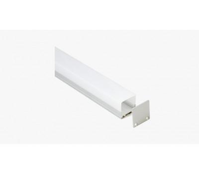 Накладной алюминиевый профиль H013.1