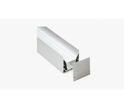Накладной алюминиевый профиль H017