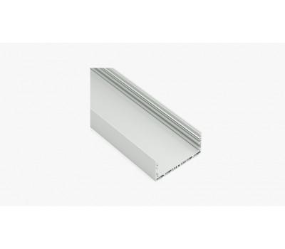 Накладной алюминиевый профиль H019