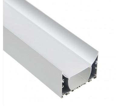 Накладной алюминиевый профиль H021
