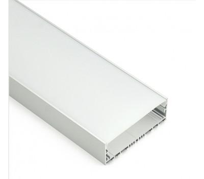 Накладной алюминиевый профиль H028