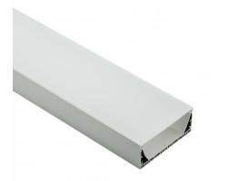 Накладной алюминиевый профиль H049