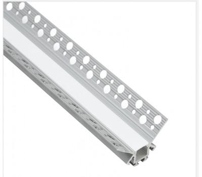 Безрамочный алюминиевый профиль B039