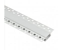 Безрамочный алюминиевый профиль B056