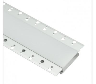 Безрамочный алюминиевый профиль B058